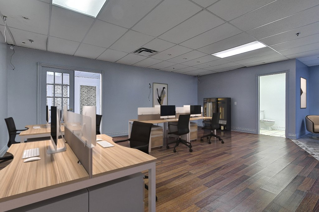 Commercial rental space office for rent riviere des prairies